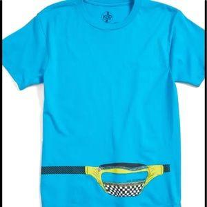Boys Kid Dangerous FannyPack Tshirt